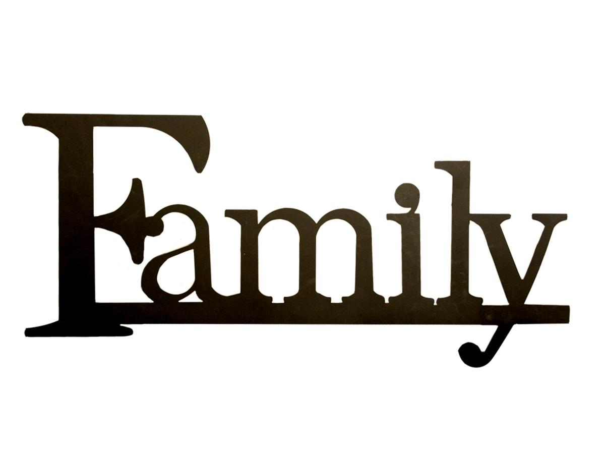 Family Word Clipart Clipart Panda