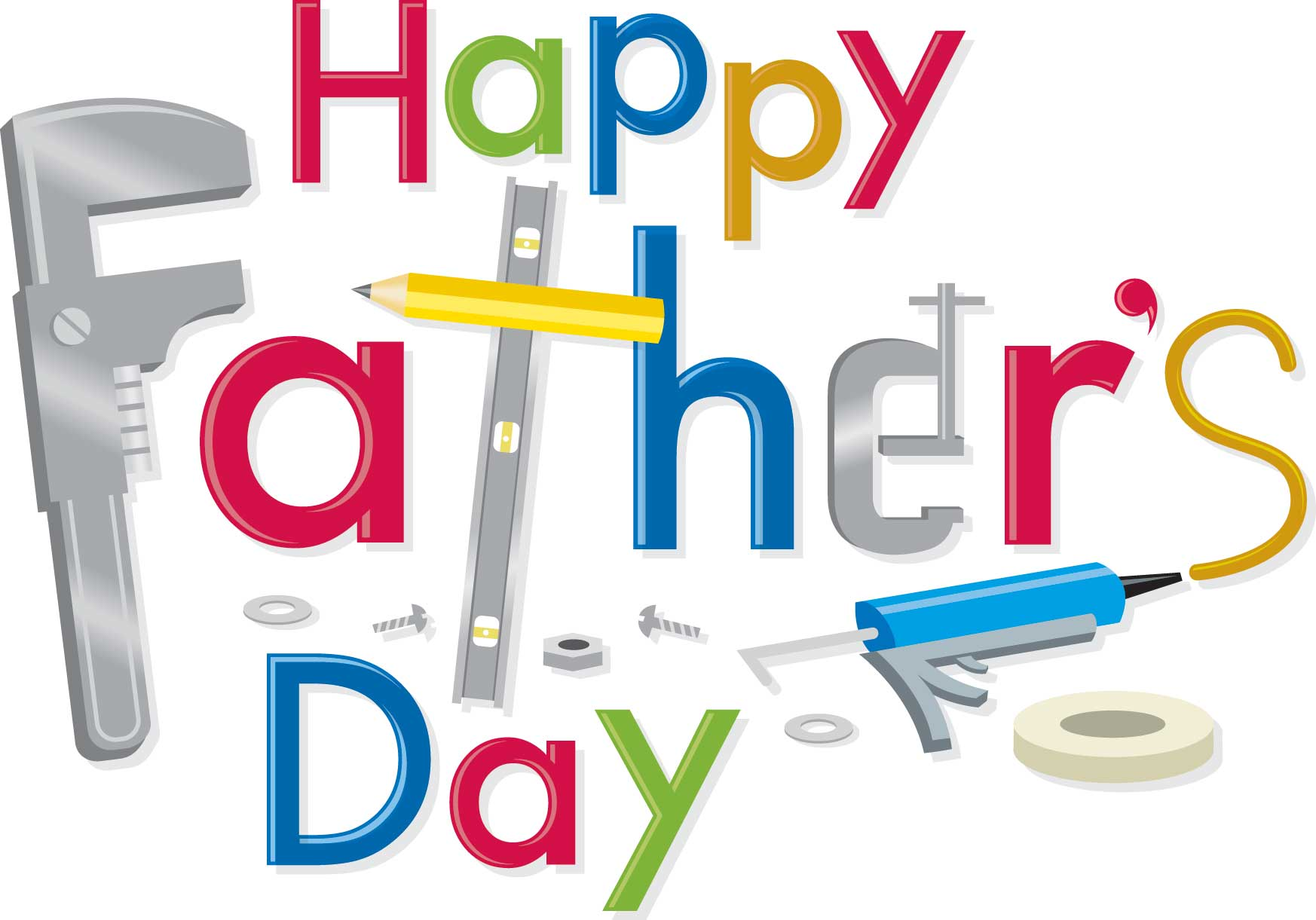 Hayppy Fathers Day Clip Art