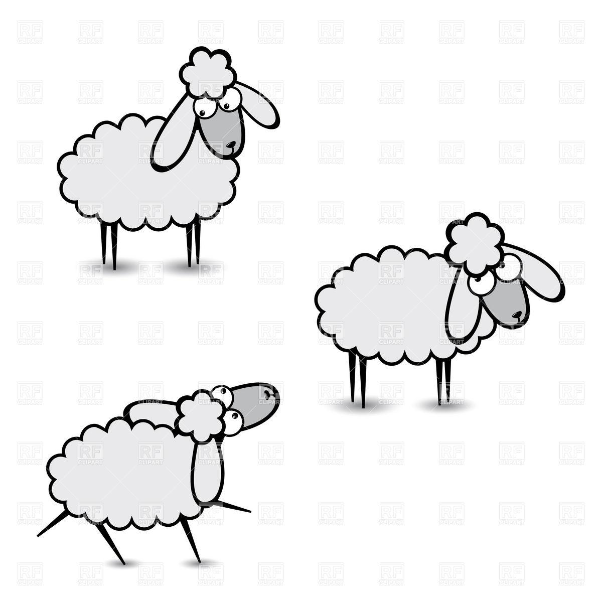 Flock Of Sheep Clipart Clipart Panda