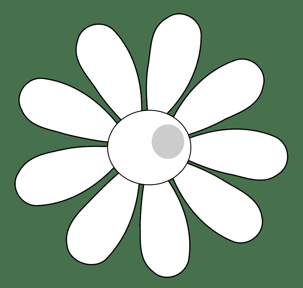 Flowers Arrangements Clipart Black And White