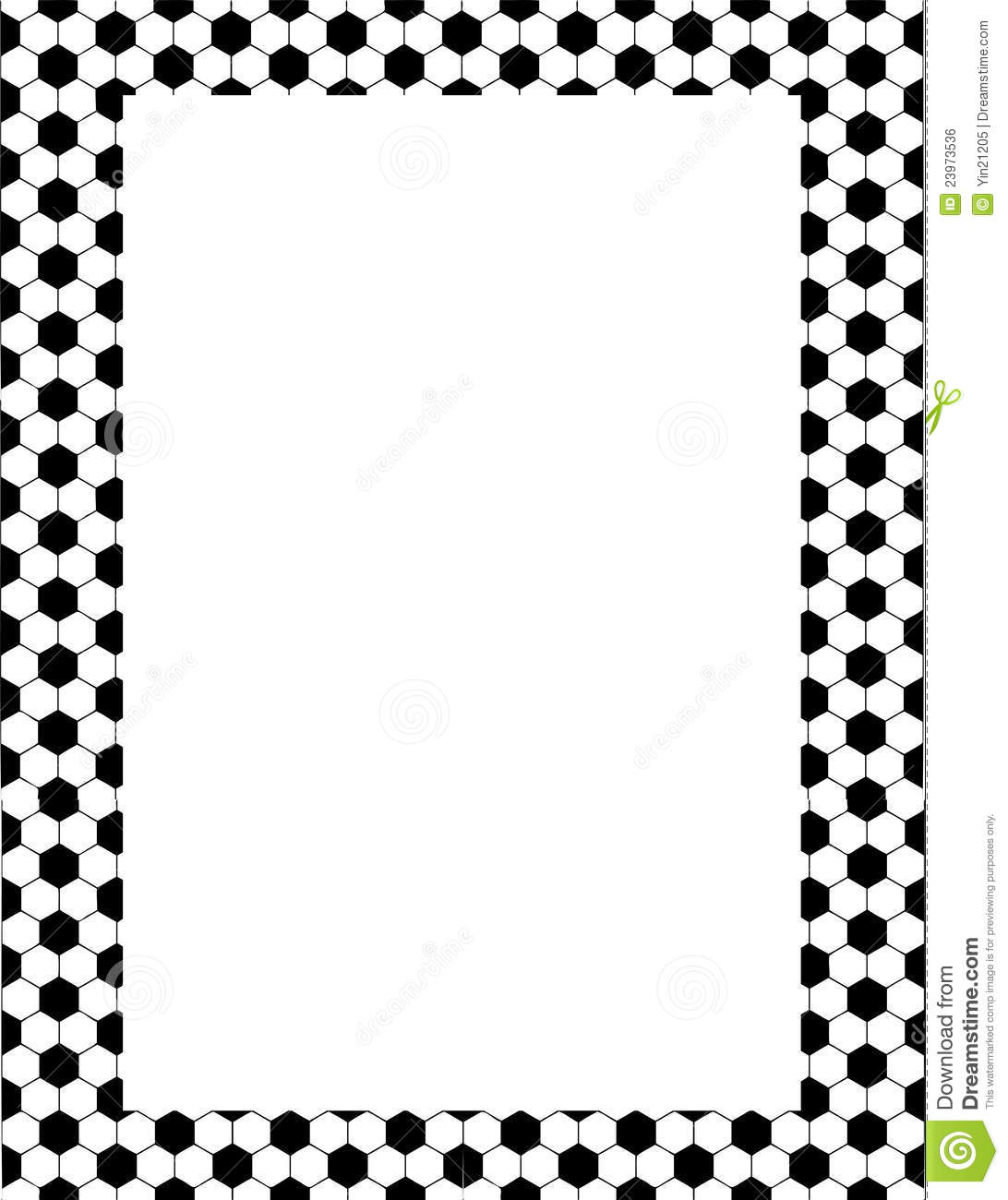 Soccer Clip Art Border Clipart Panda