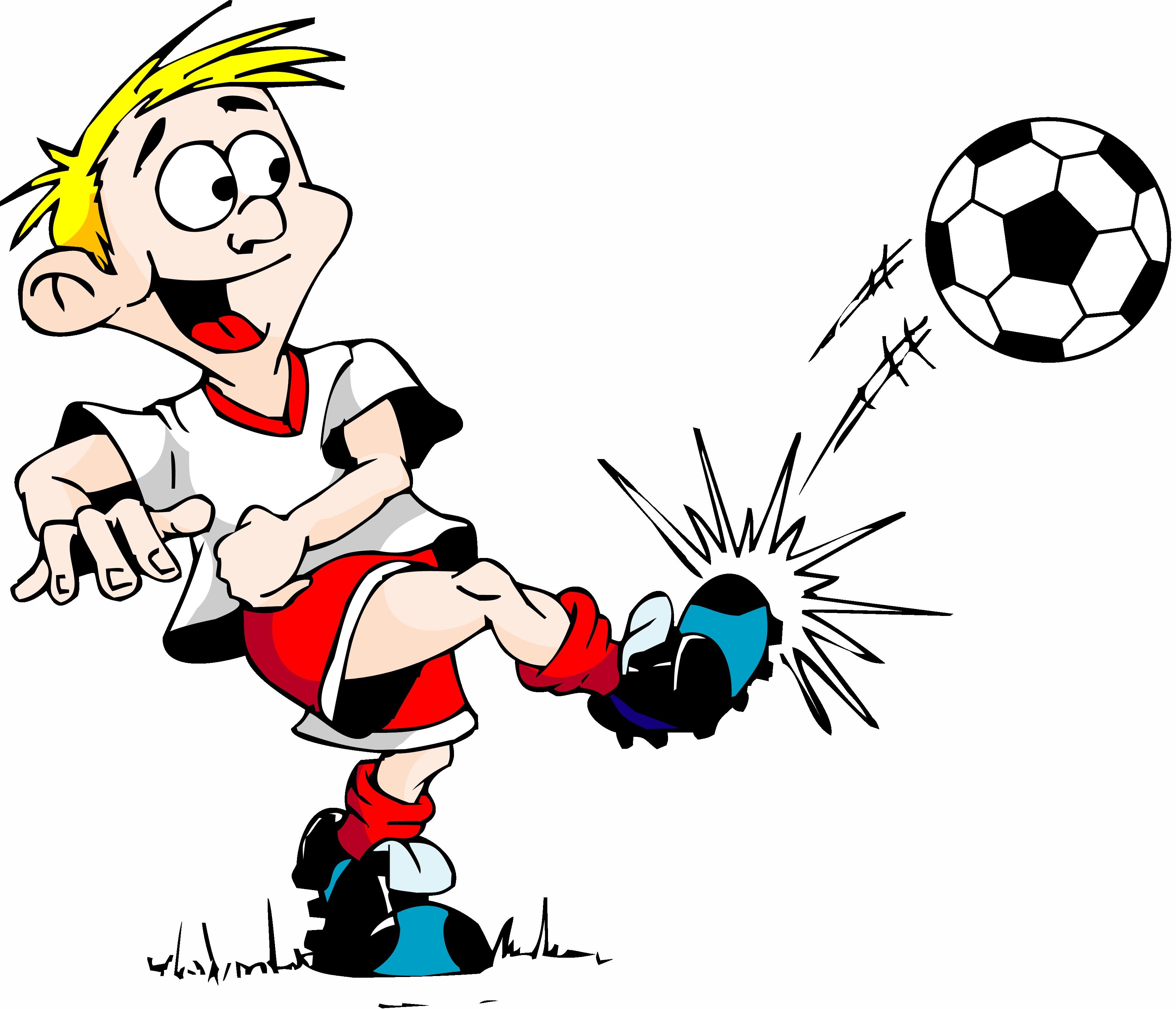 Girl Kicking Soccer Ball Clip Art Clipart Panda