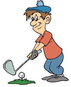 Image result for golfer clip art
