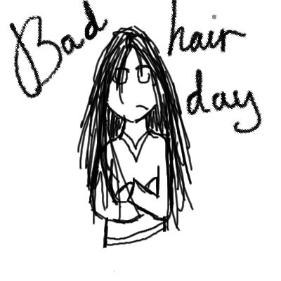 Kiramae Bad Hair Day Clipart Panda Free Clipart Images