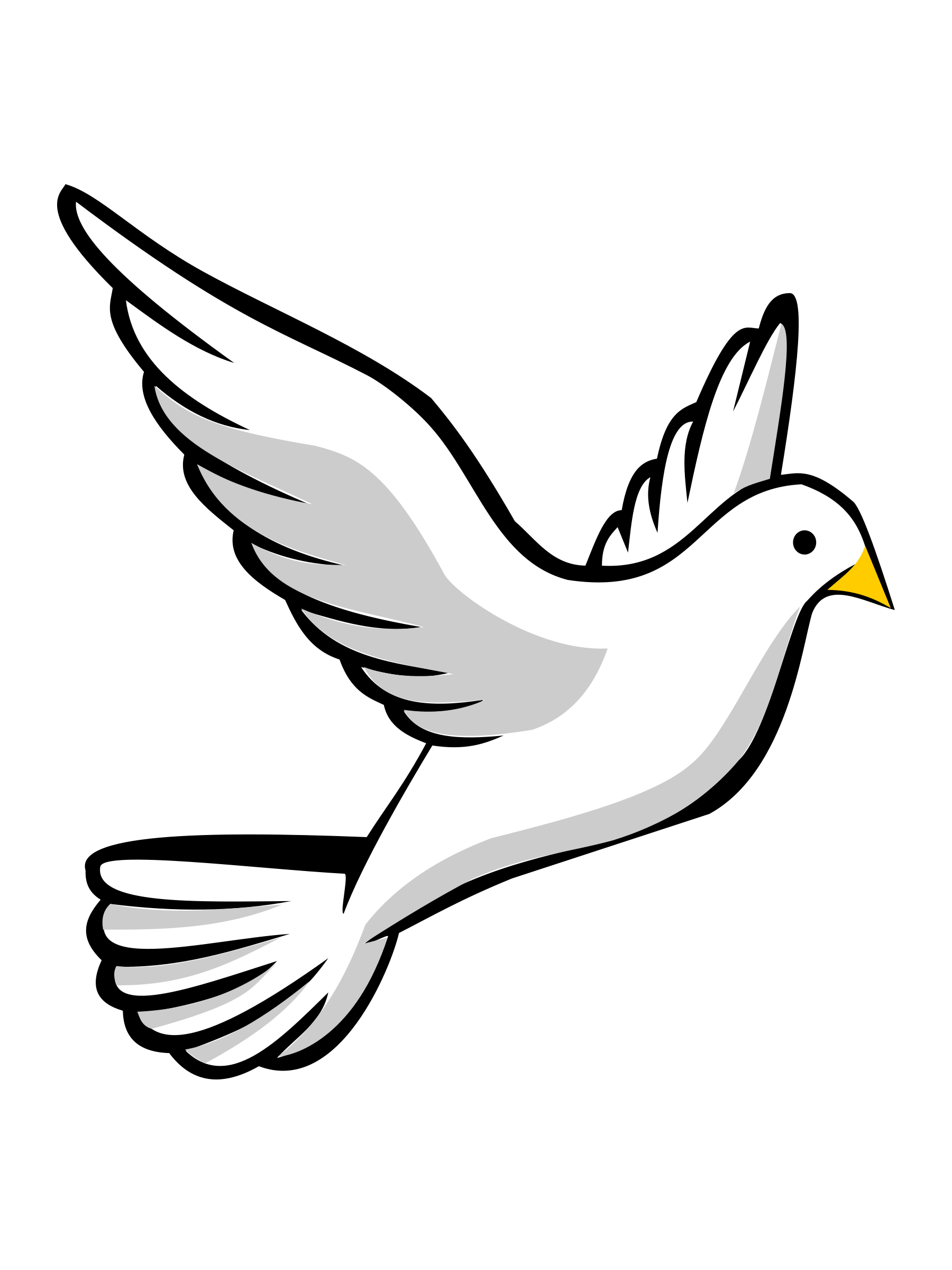 Holy Spirit Dove Clipart Clipart Panda