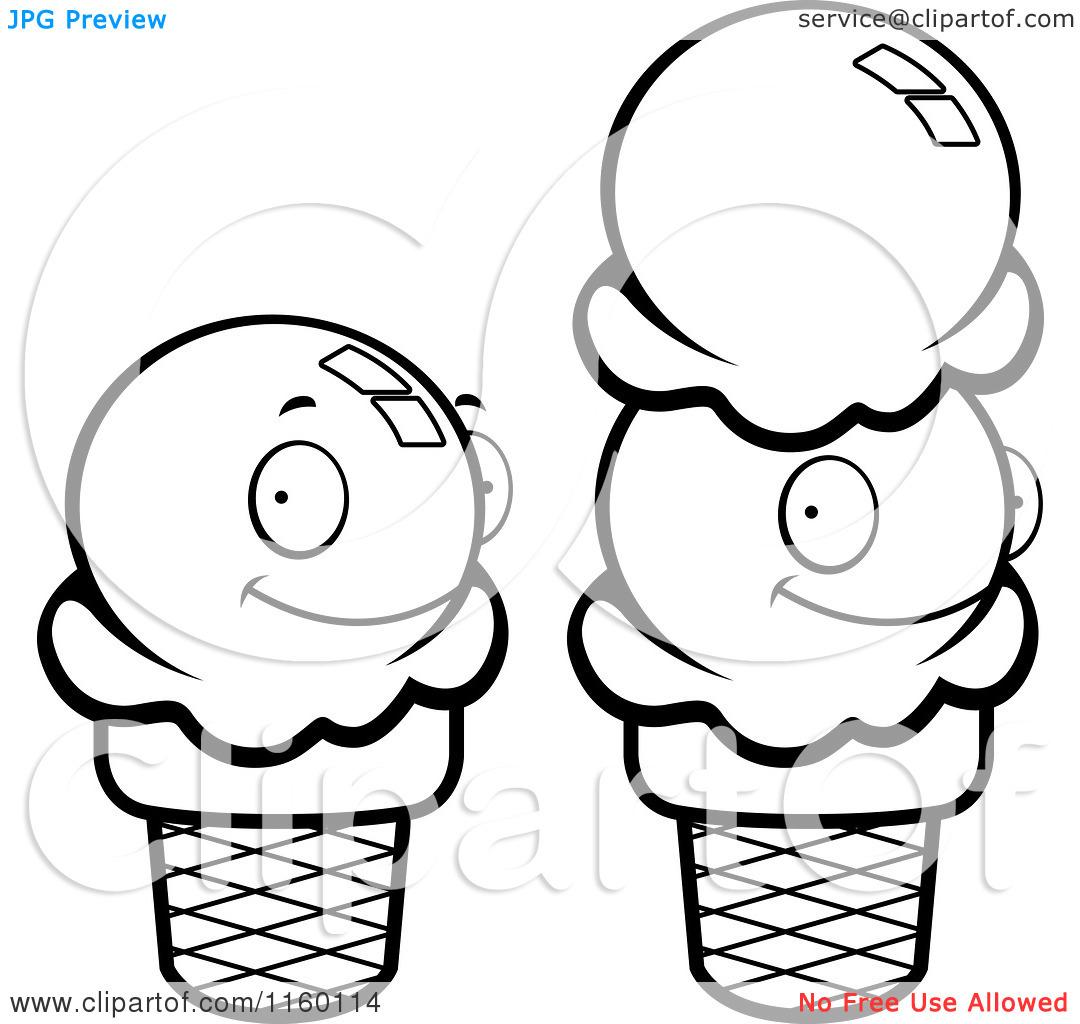 Cartoon Clipart Of Black And Clipart Panda