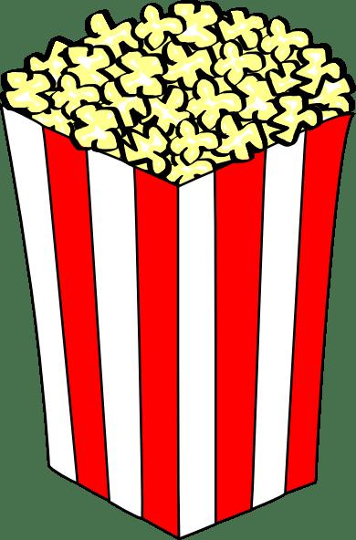 Image result for popcorn clip art