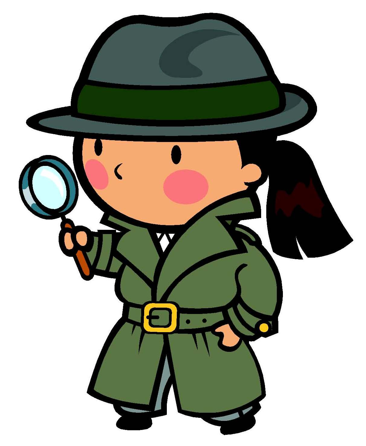 Detective Clipart For Kids Clipart Panda