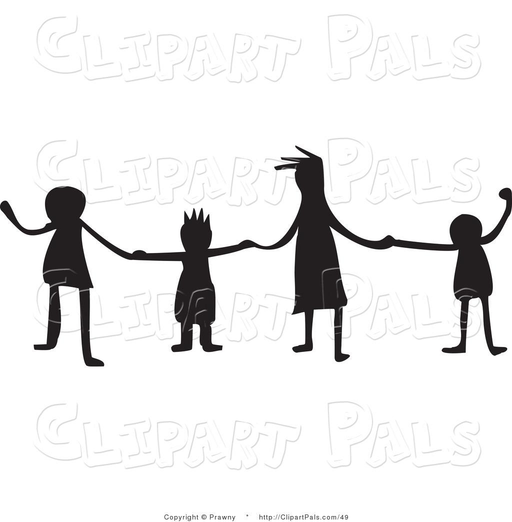 Friends Holding Hands Clip Art Clipart Panda
