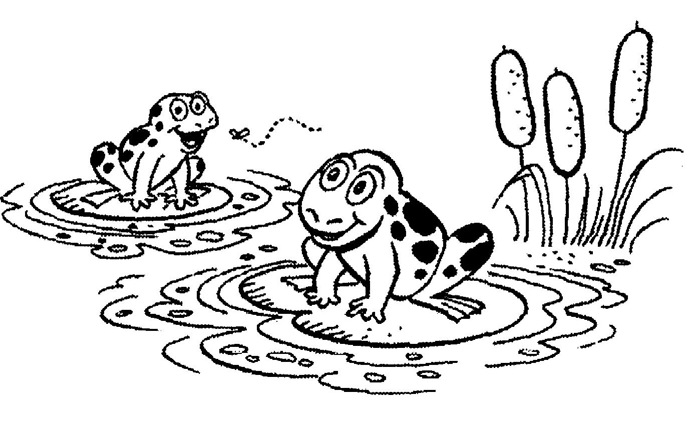 Lake Clipart Black And White Clipart Panda