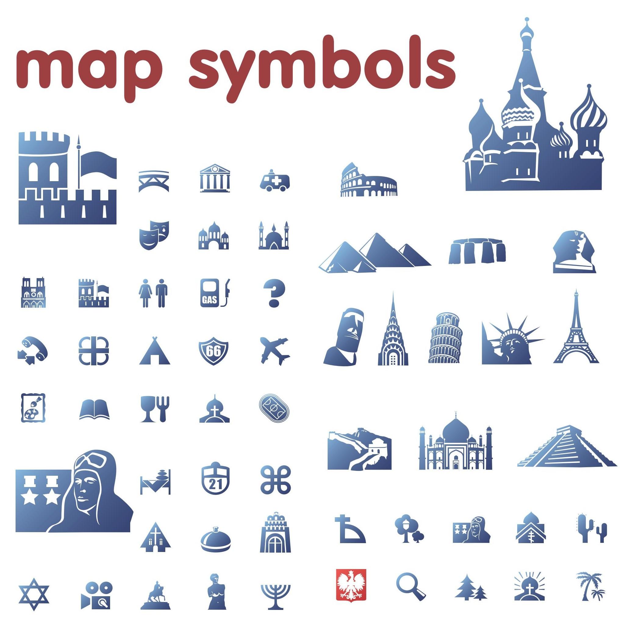 Map Legend Symbols Clipart Clipart Panda