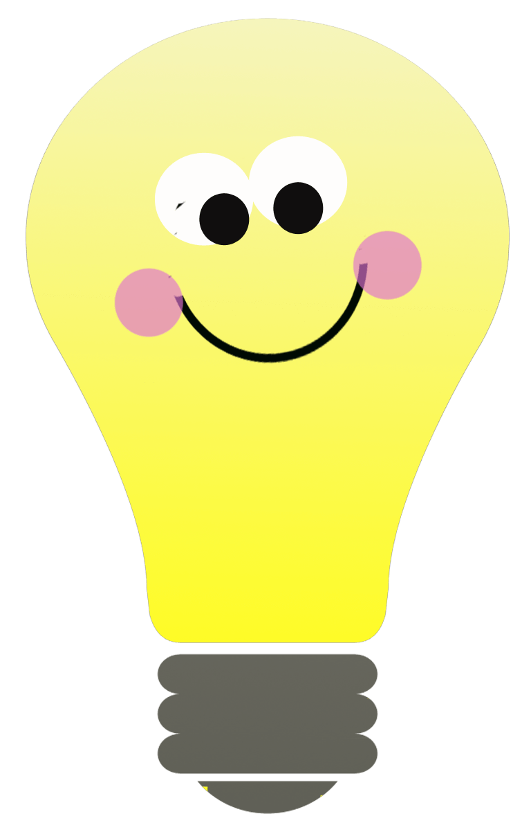 Image result for free clip art light bulb transparent