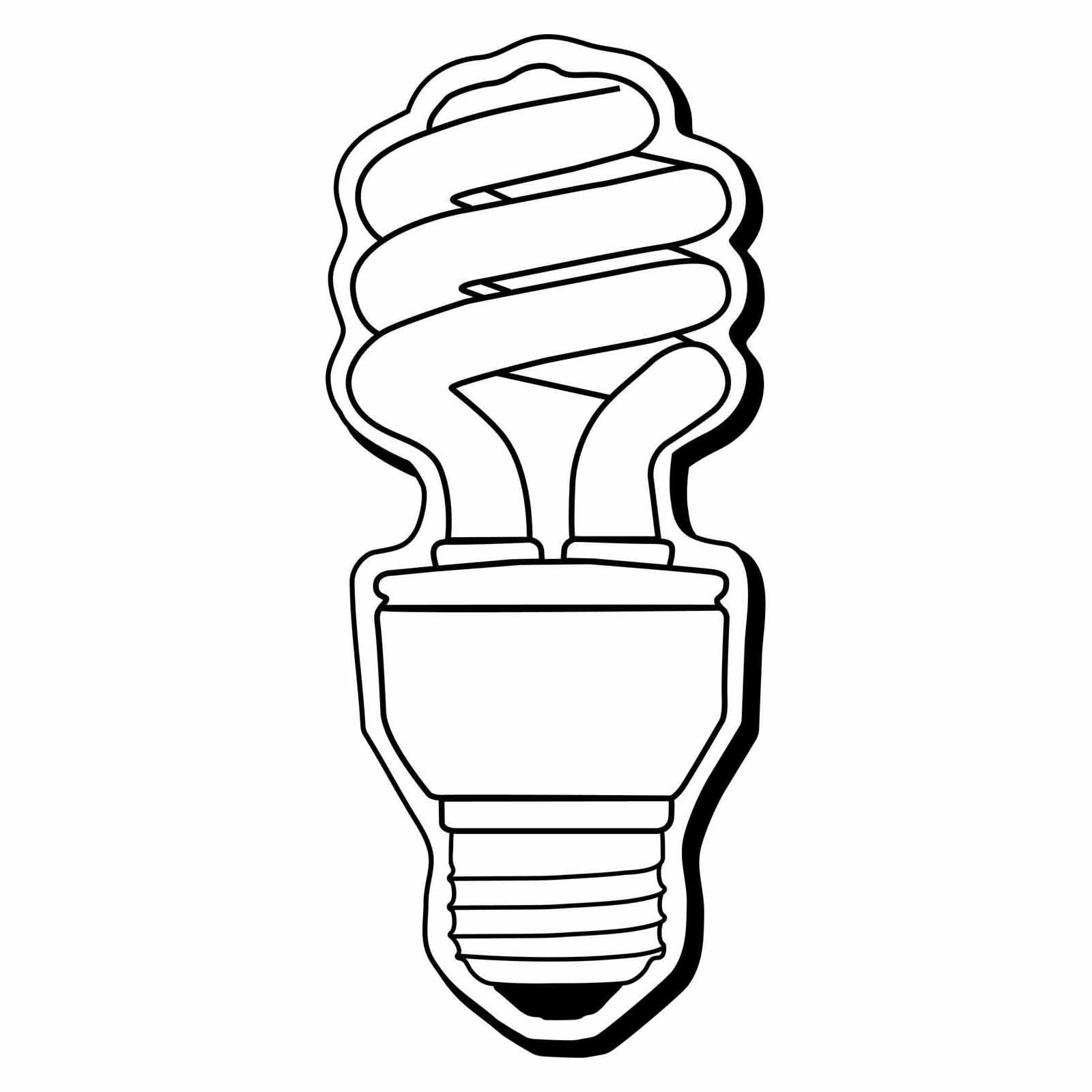Lightbulb Drawing Clipart Panda