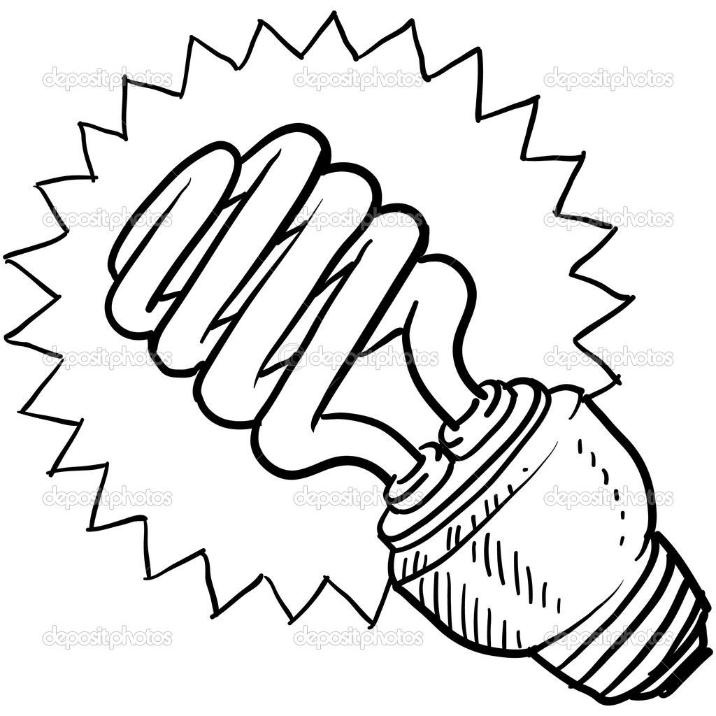Light Bulb Drawing Clipart Panda