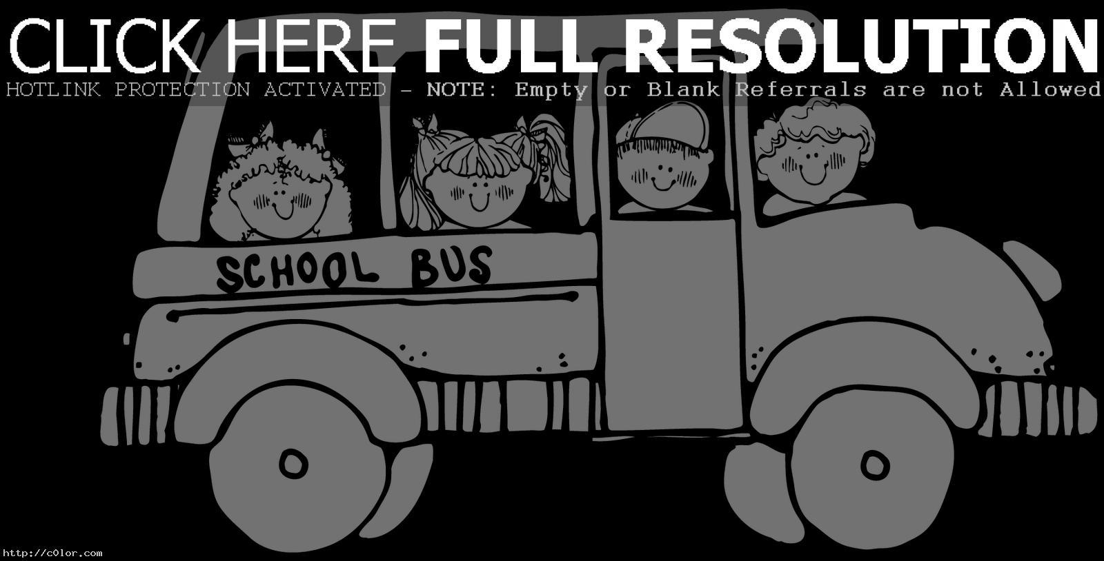 Magic School Bus Coloring Page Clipart Panda