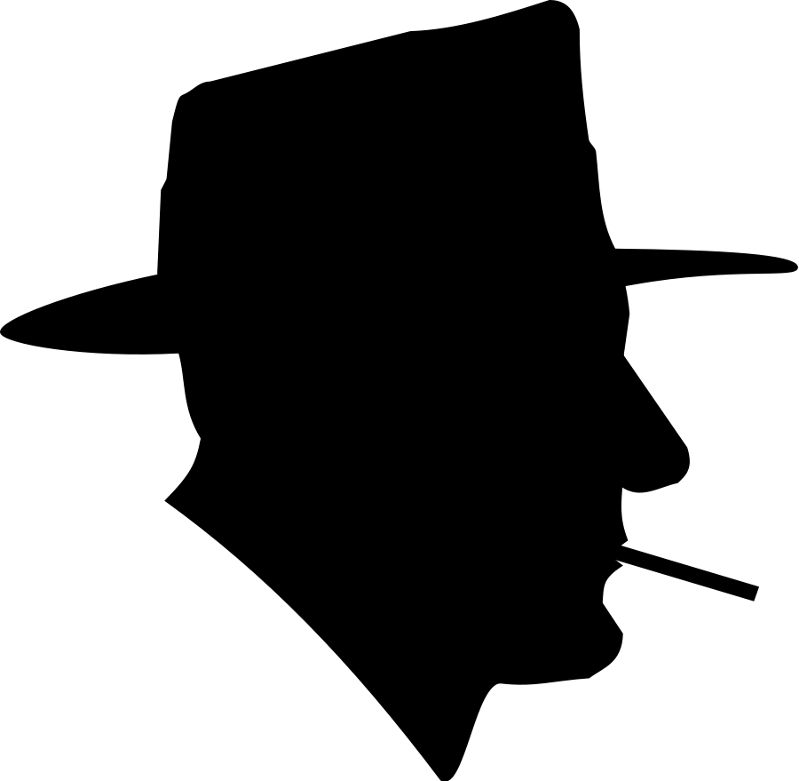 Man Thinking Silhouette Clipart Panda Free Clipart Images