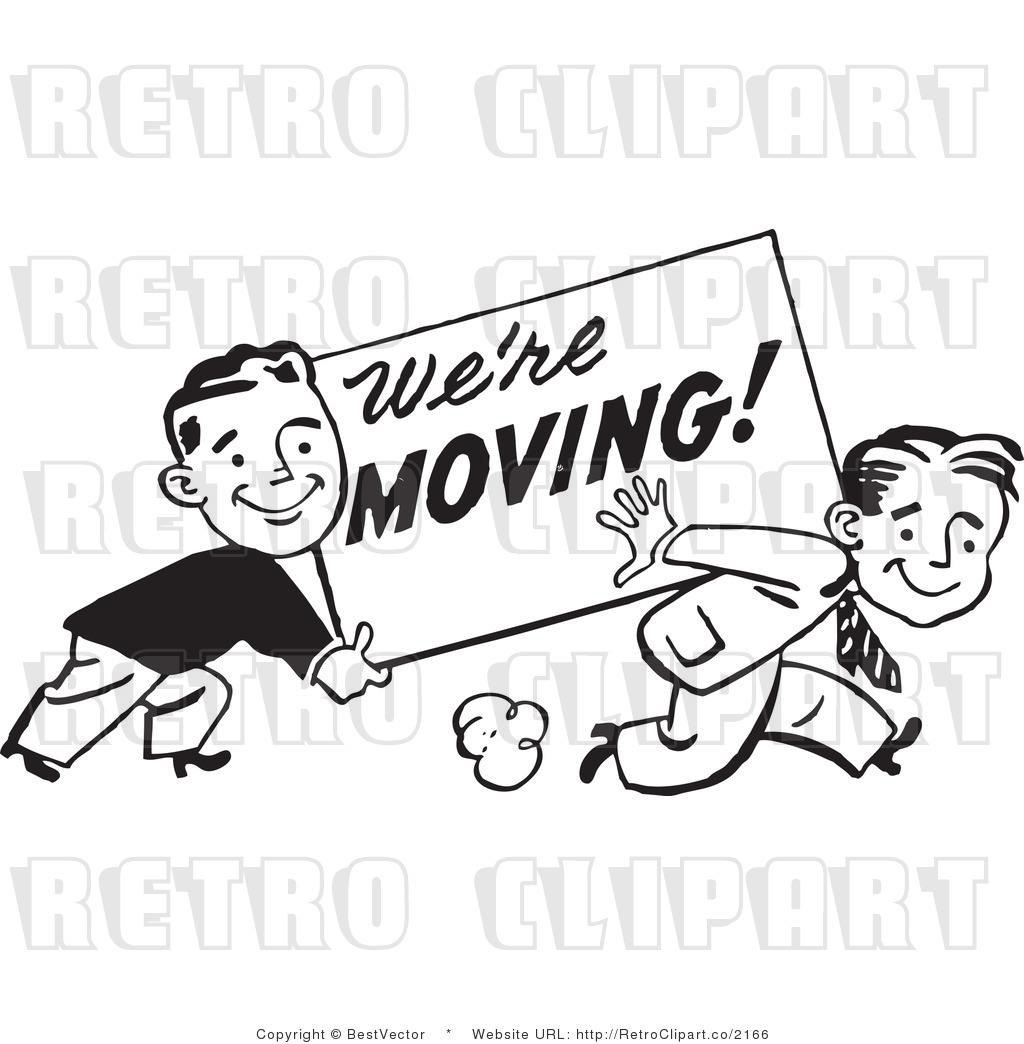 Clip Art Of We Re Moving Clipart Panda