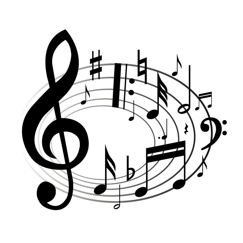 Music Notes Clip Art Transparent Clipart Panda