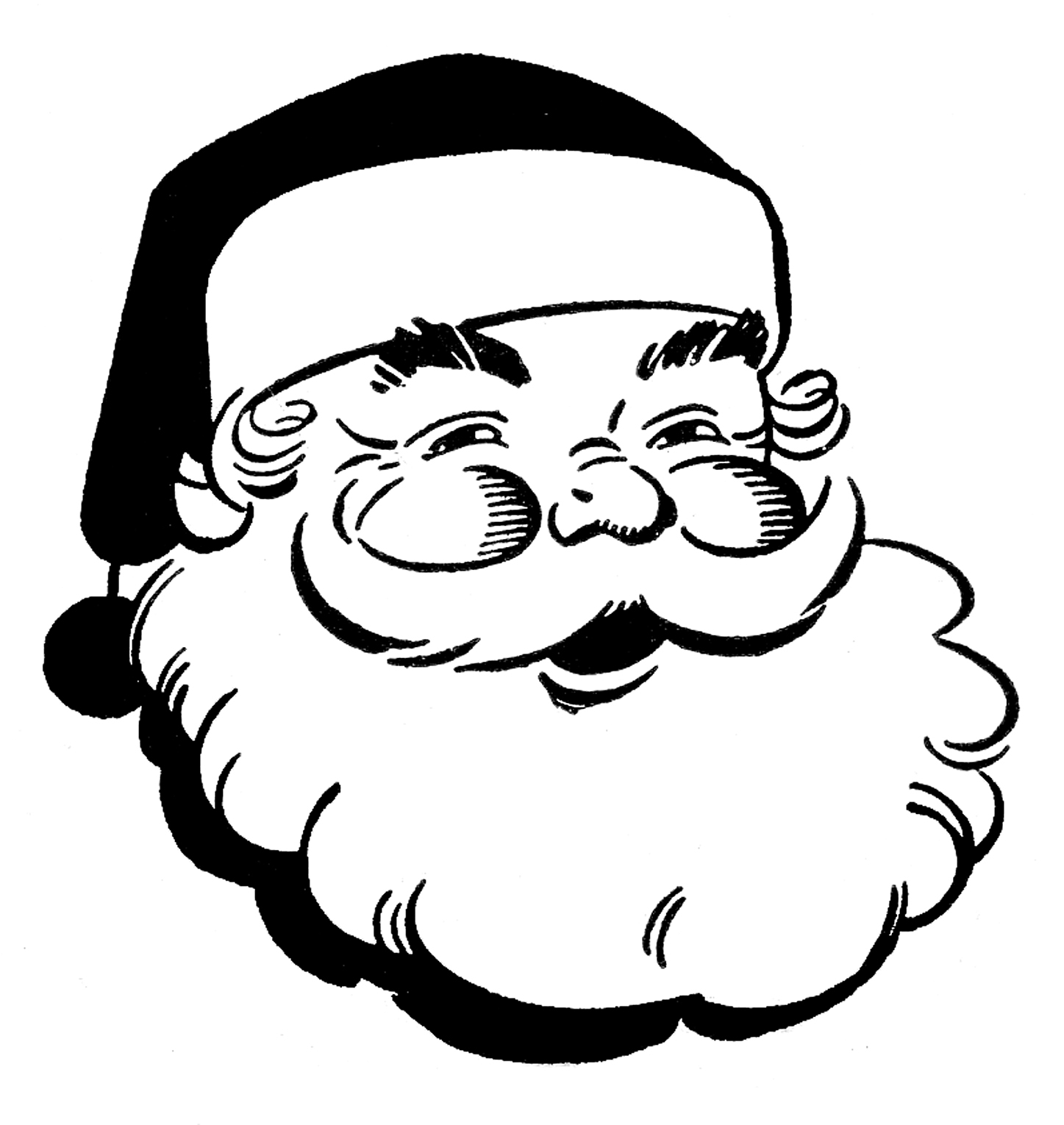Christmas Clipart Black And White Clipart Panda