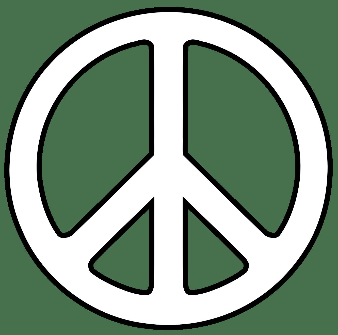 Peace Clip Art Free Clipart Panda