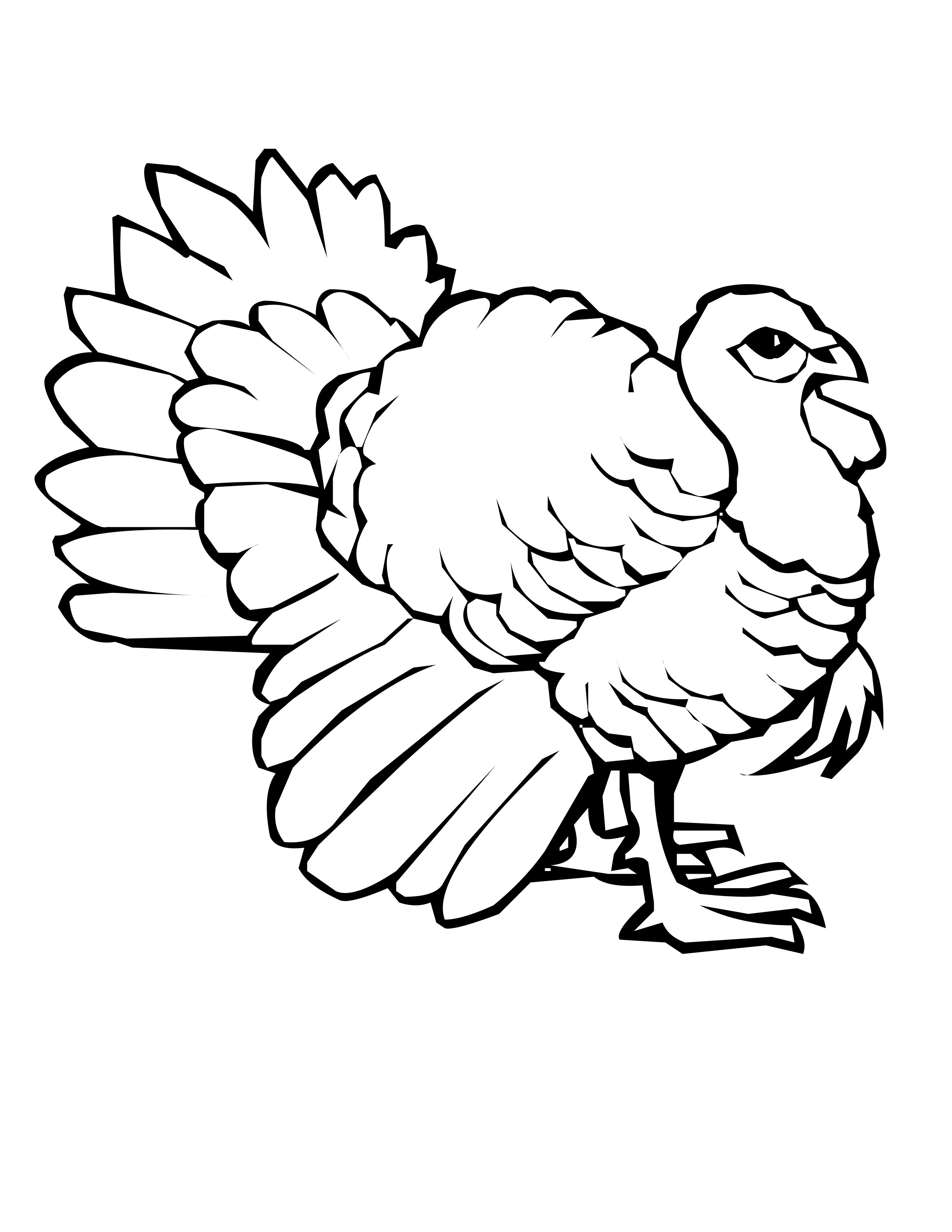Hard Peacock Coloring Pages Clipart Panda
