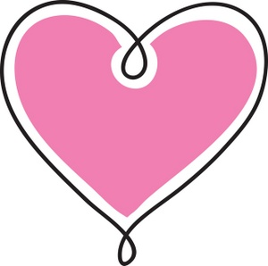 Pink Valentine Hearts Clip Clipart Panda Free Clipart