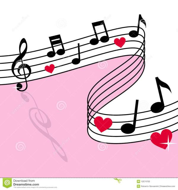 Pink Musical Notes Background | Clipart Panda - Free ...