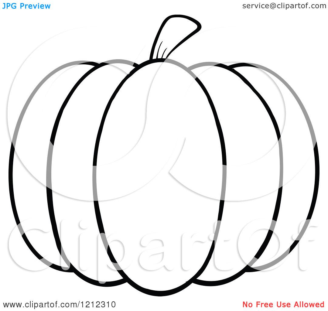 Black And White Pumpkin Clipart Clipart Panda