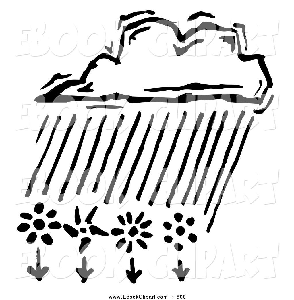 Rain Clouds Clipart Black And White Clipart Panda