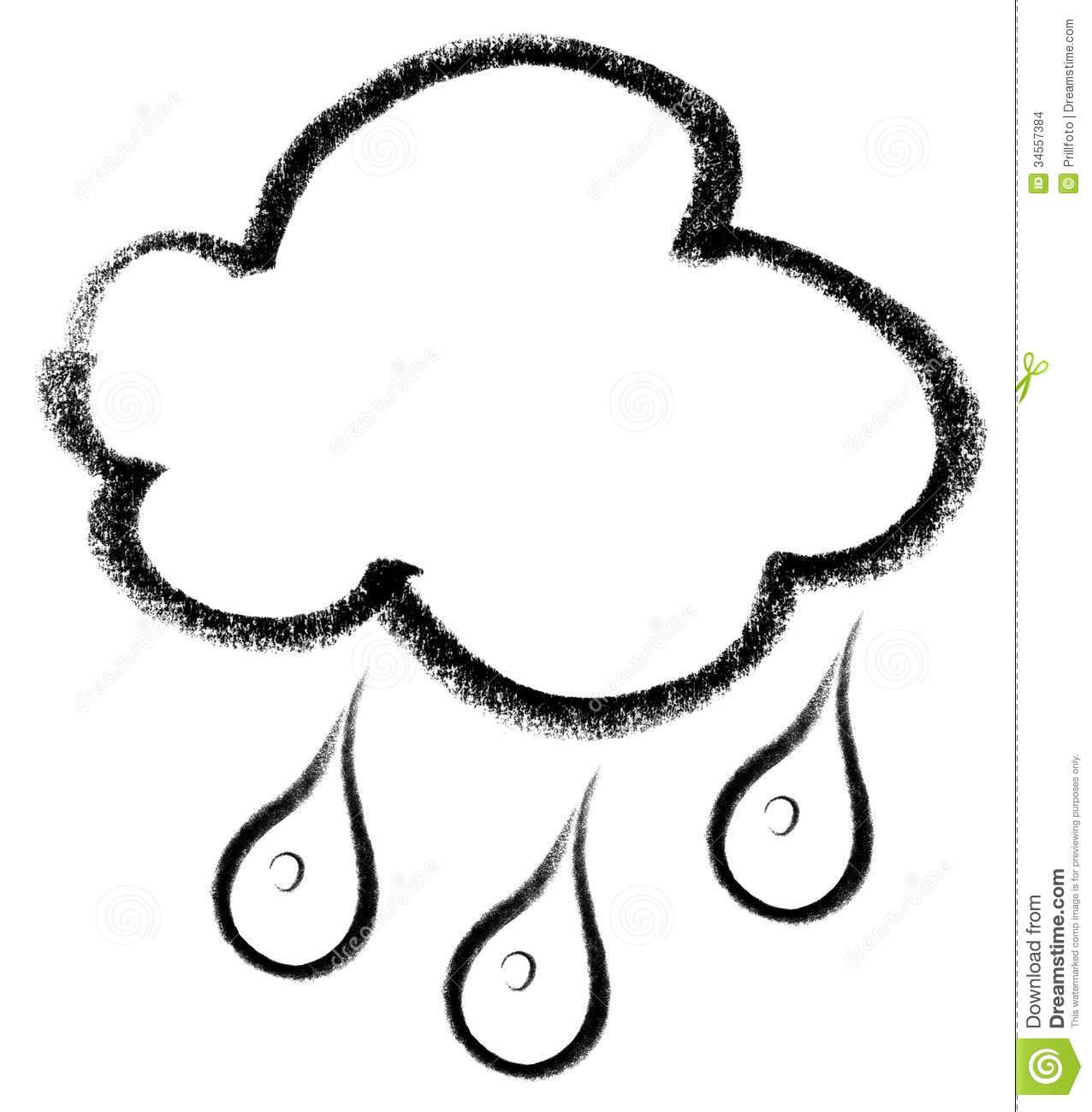 Rainy Cloud Icon Clipart Panda
