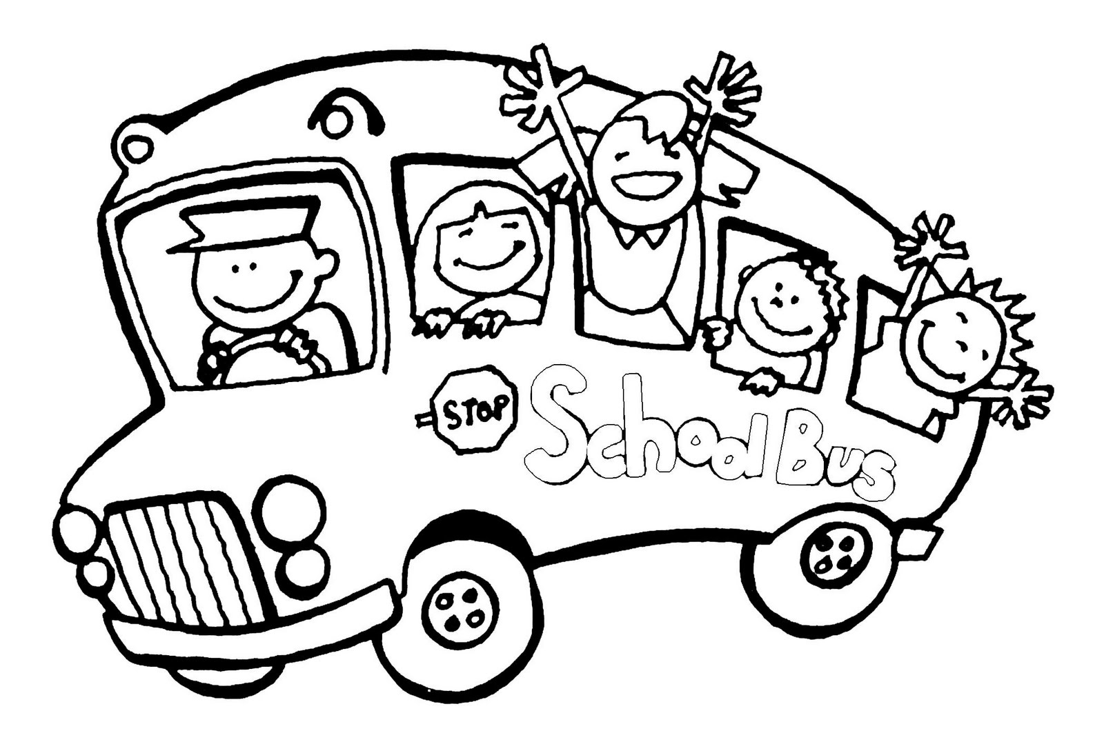 Coloring Pages School Bus Clipart Panda Free Clipart Images