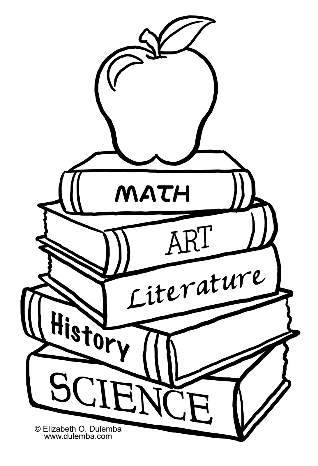 School House Coloring Pages Clipart Panda