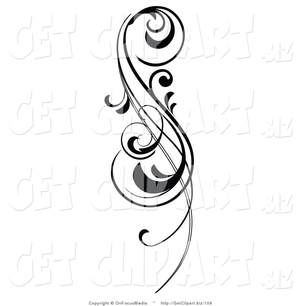 Simple Scroll Design Clip Art Clipart Panda
