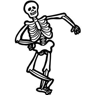 Resultado de imagem para skeleton clipart