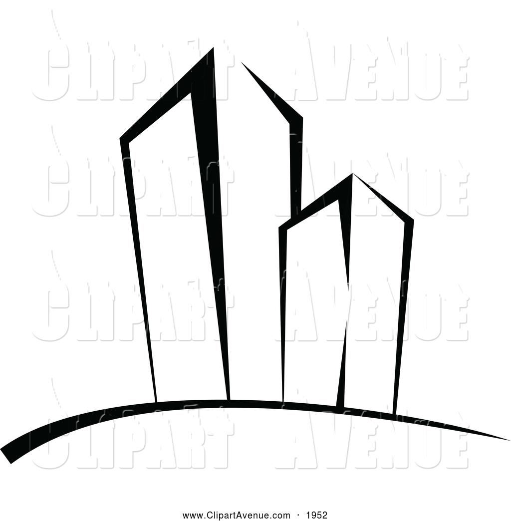 Skysc R Clip Art Black And White Cliparts