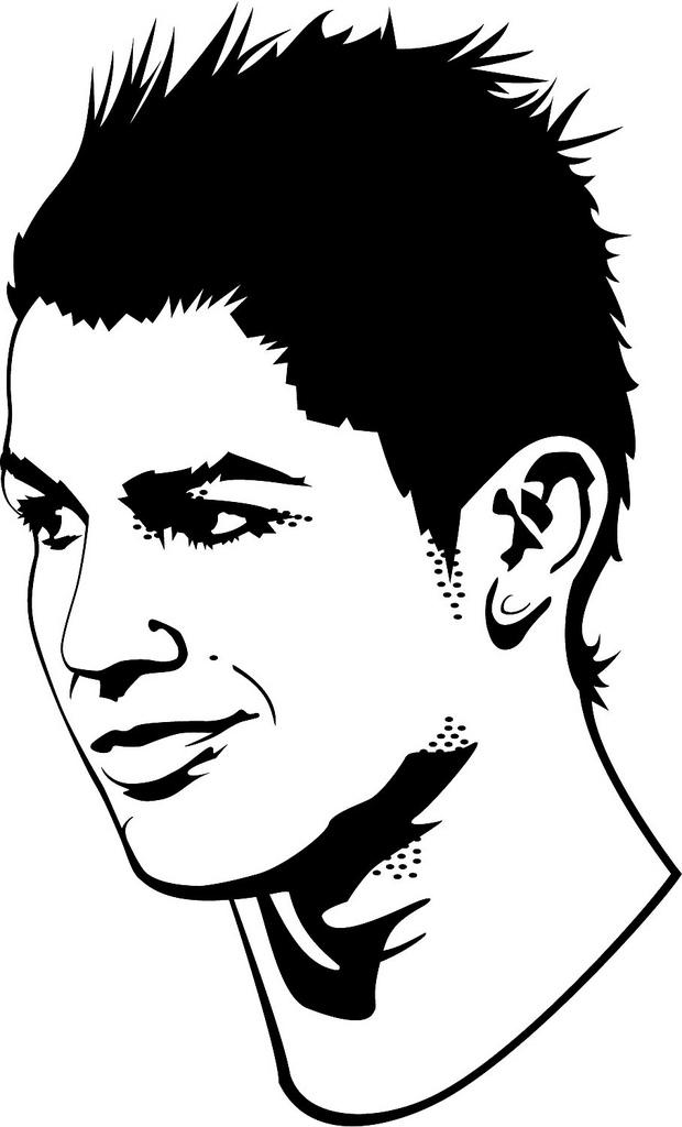 soccer kick ronaldo  clipart panda  free clipart images