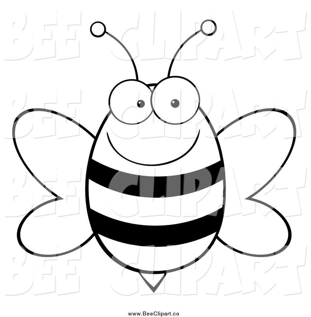 Spelling Bee Clipart Black And White