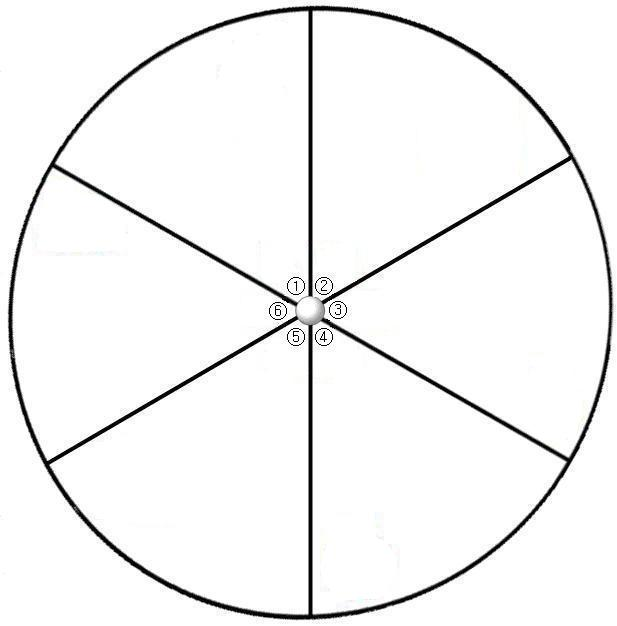 Black And White Number Spinner