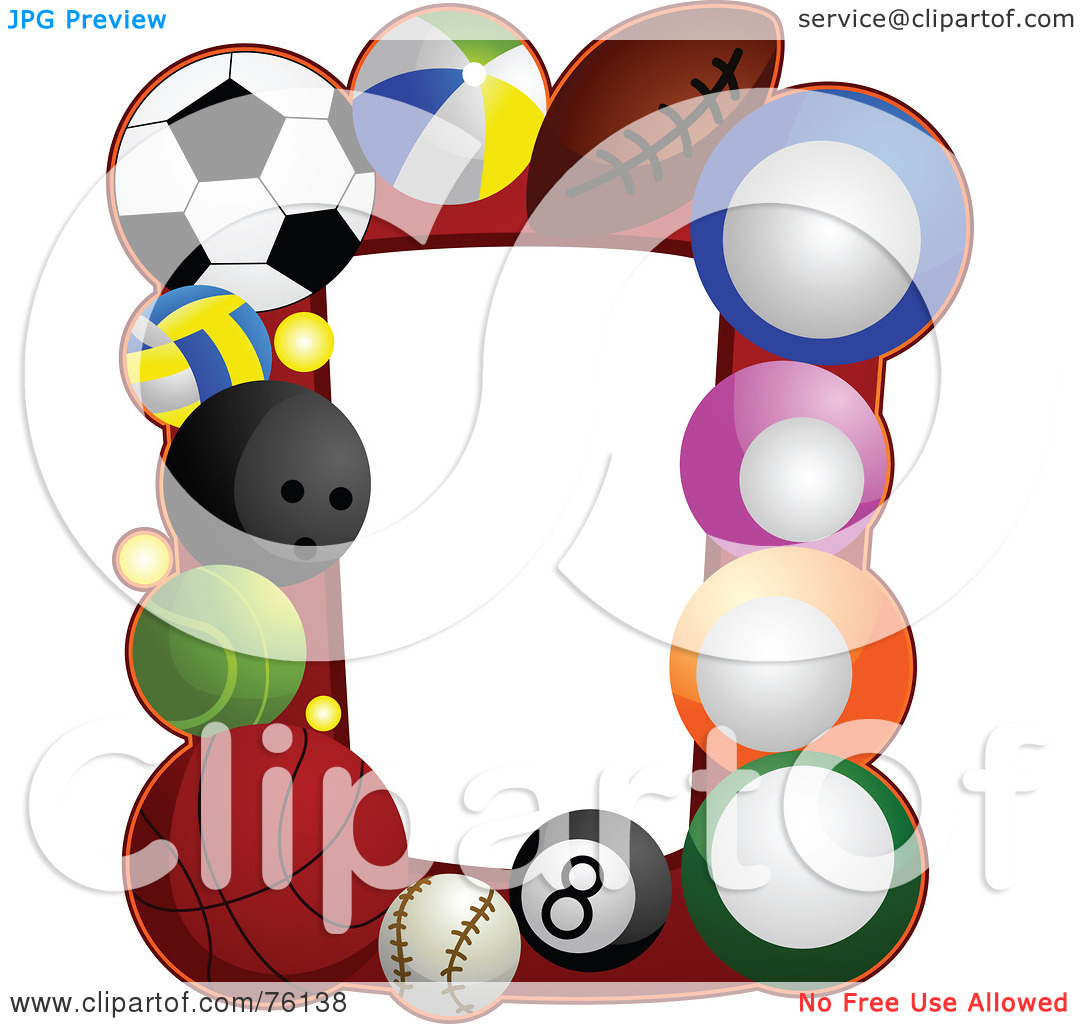 Free Sports Clip Art Borders - Alternative Clipart Design •