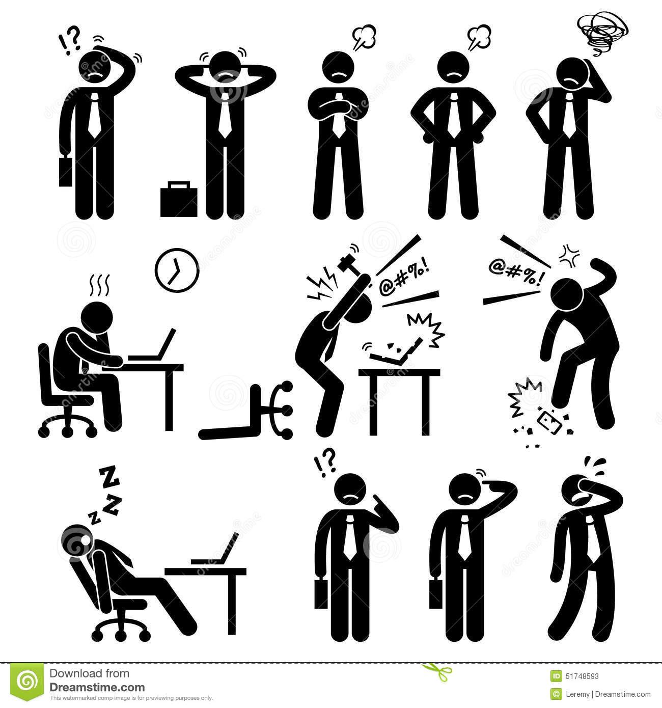 Stress Pressure Workplace Clipart Panda