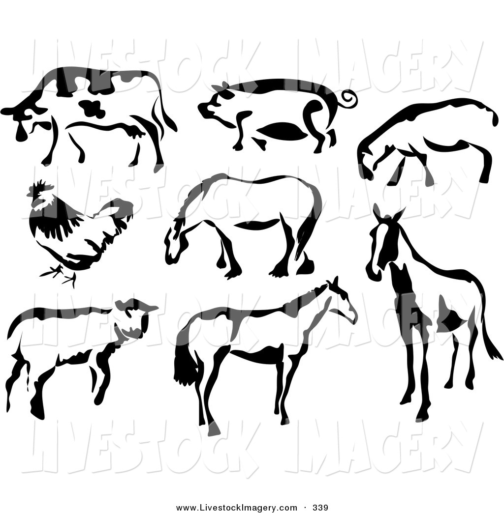 Pig Clipart Black And White Clipart Panda