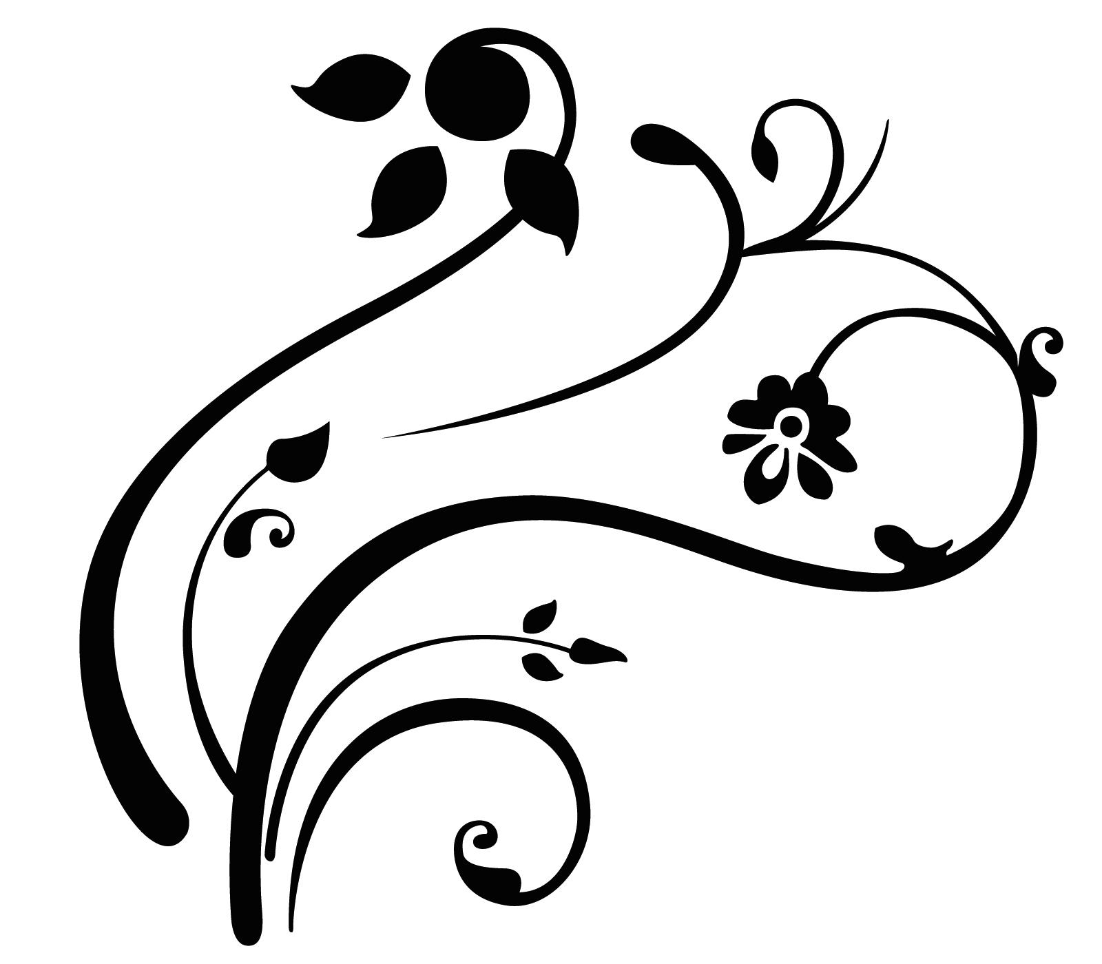 Swirls Clipart For Wedding Program Clipart Panda