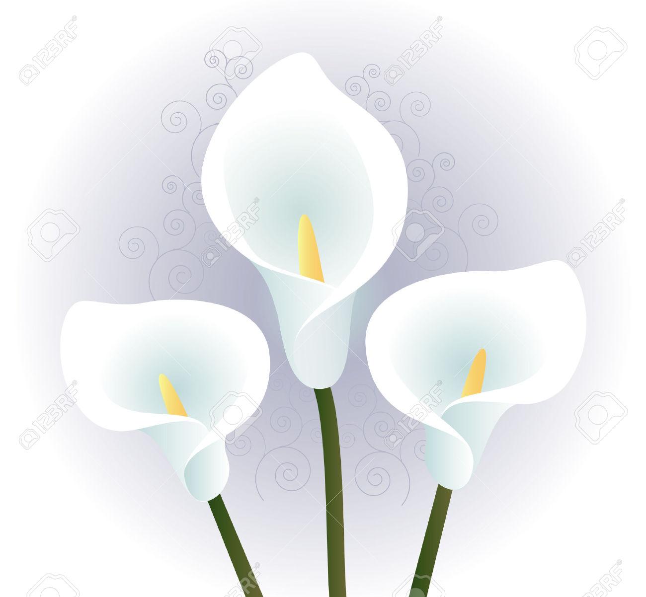 Memorial Flower Clip Art Black