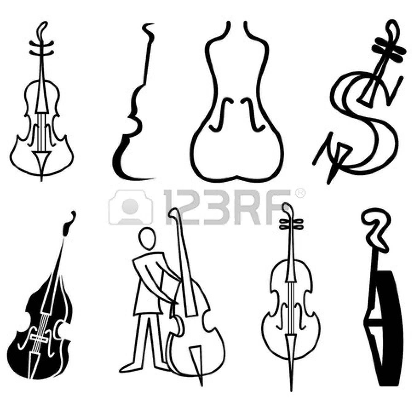 Symphony Orchestra Violin Clipart Panda