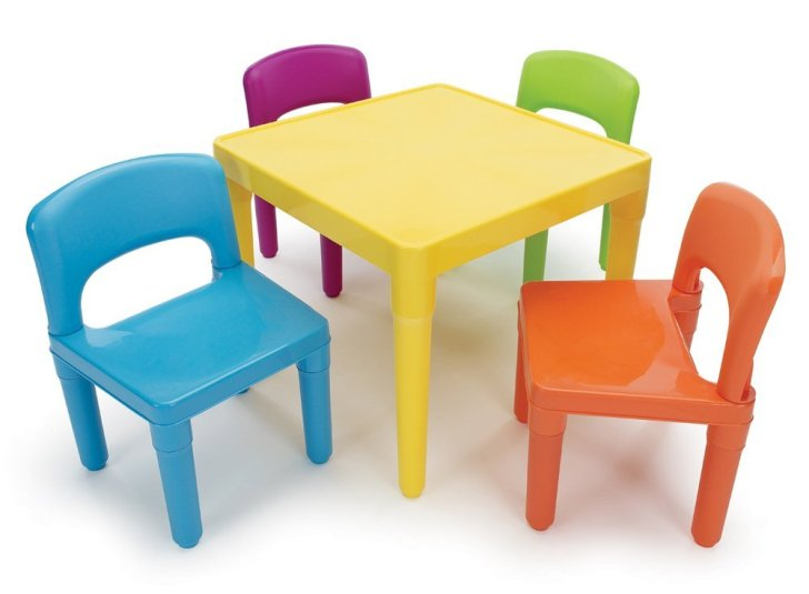 Kids Table Chairs Clipart Amazoncom Furniture Home Kitchen