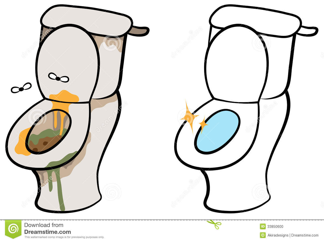 Dirty Toilet Seat Clipart Clipart Panda