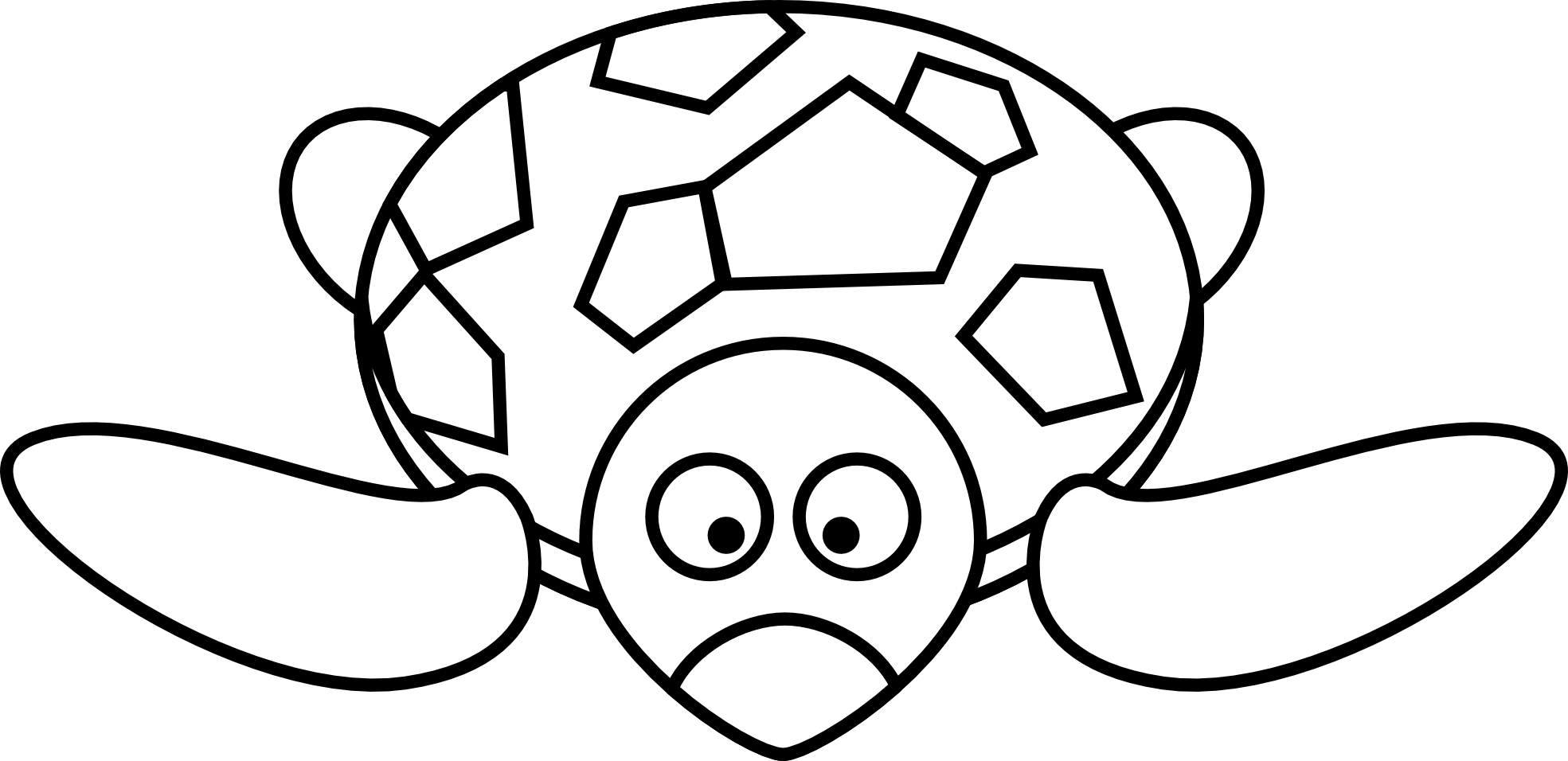 Tortoise Clipart Black And White Clipart Panda