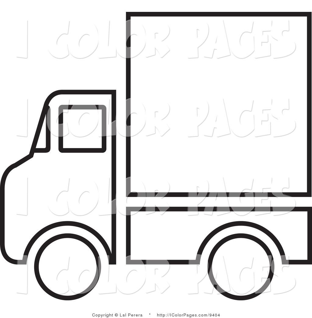 Delivery Van Clipart Clipart Panda