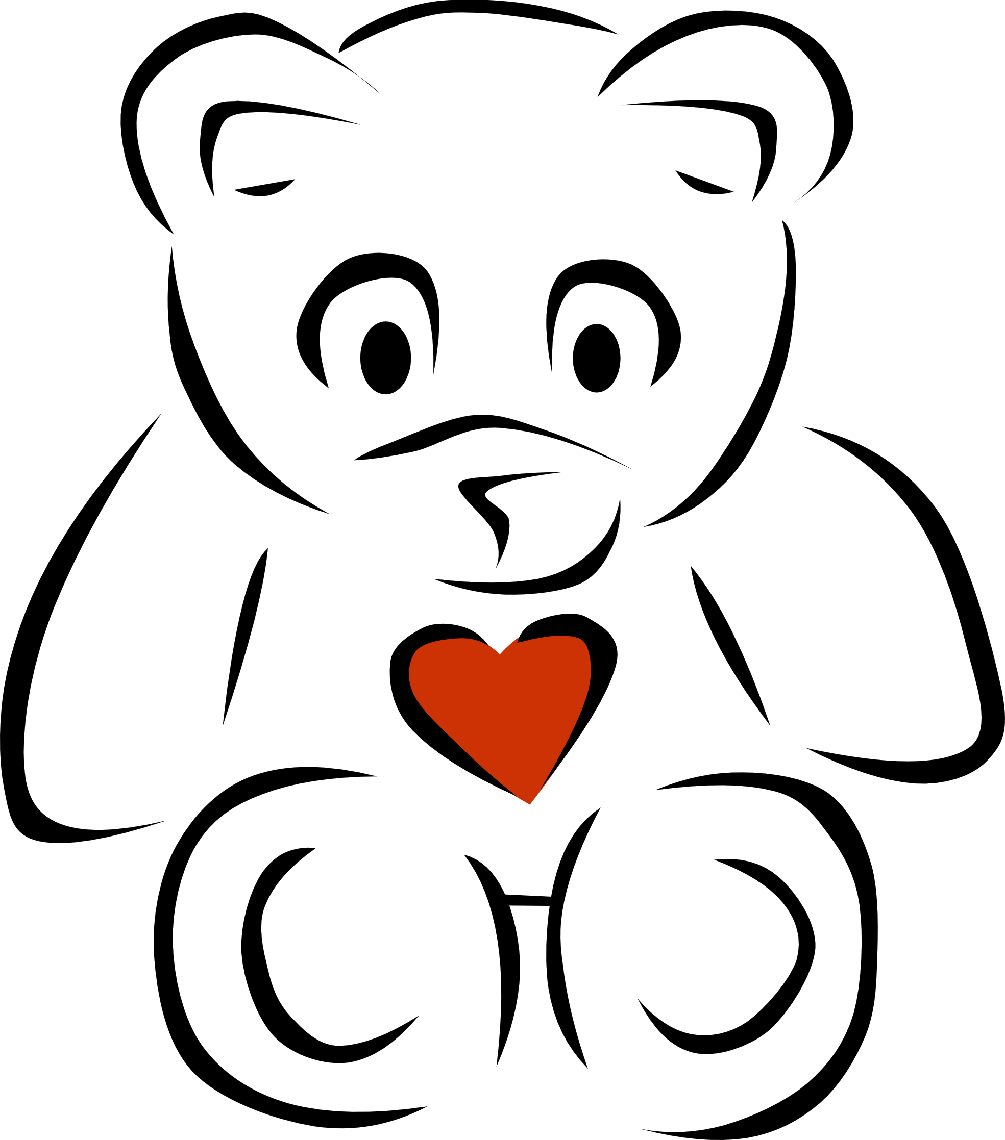 Clipart Heart Black And White Clipart Panda