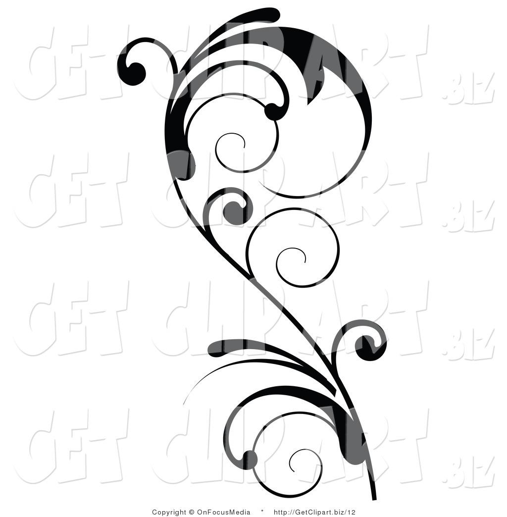 Vine Clipart Black And White Clipart Panda